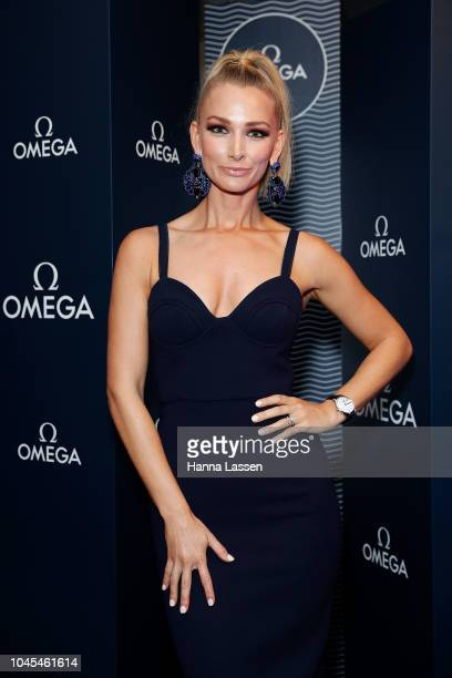 Anna Robards attends the OMEGA Seamaster Diver 300M Launch Event at Icebergs Dining Room and Bar on October 4 2018 in Sydney Australia