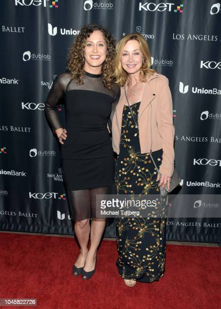 Anna Rose Hopkins and actress Sharon Lawrence attends KCET's 'Find Your Original' Event at The Majestic Downtown on October 4 2018 in Los Angeles...