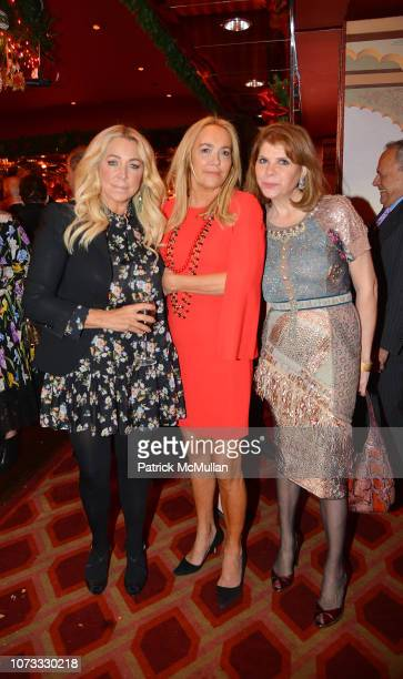 Anna Rothschild Laurie Durning Waters and Ivana Lowell attend George Farias Anne Jay McInerney Host A Holiday Party at The Doubles Club on December...