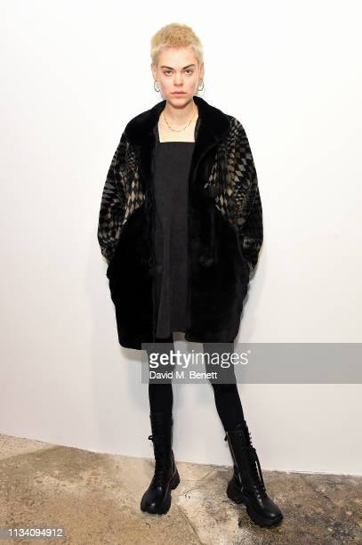 Anna Rubin attends the Gurls Talk x Barbie event hosted by Adwoa Aboah celebrating their collaboration at Dover Street Market on March 06 2019 in...