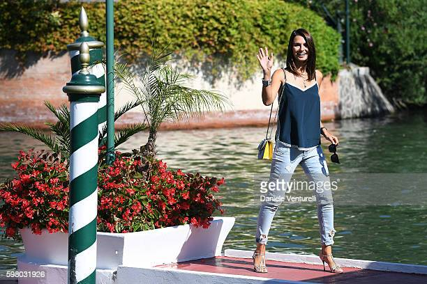 Anna Safroncik arrives for the jury photocall during 73rd Venice Film Festival on August 31 2016 in Venice Italy