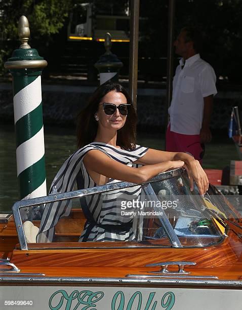 Anna Safroncik attend the 73rd Venice Film Festival on September 1 2016 in Venice Italy