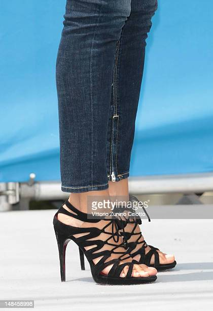 Anna Safroncik attends 2012 Giffoni Film Festival photocall on July 17 2012 in Giffoni Valle Piana Italy