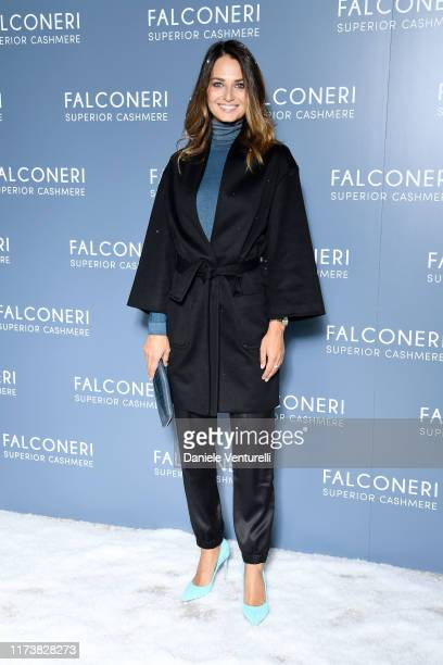 Anna Safroncik attends the Falconeri fashion show on September 11 2019 in Verona Italy