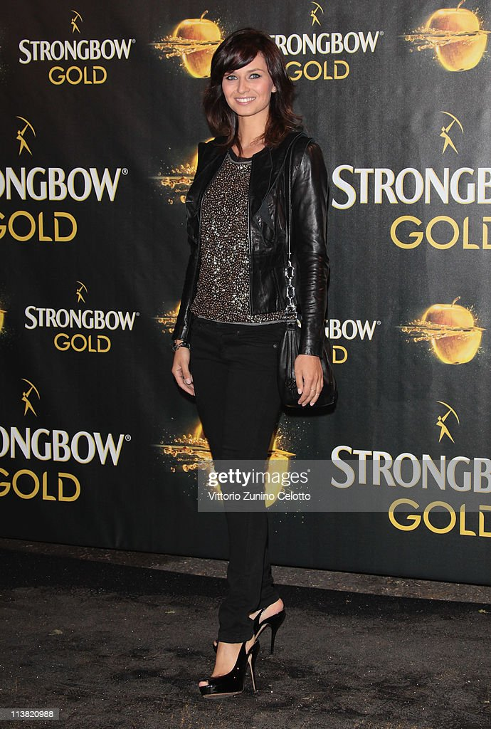 Anna Safroncik attends 'The Gold Experience' red carpet on May 6, 2011 in Milan, Italy.