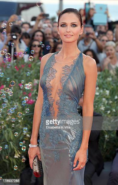 Anna Safroncik attends the 'Philomenia' Premiere during The 70th Venice International Film Festival at the Palazzo del Casino on August 31 2013 in...