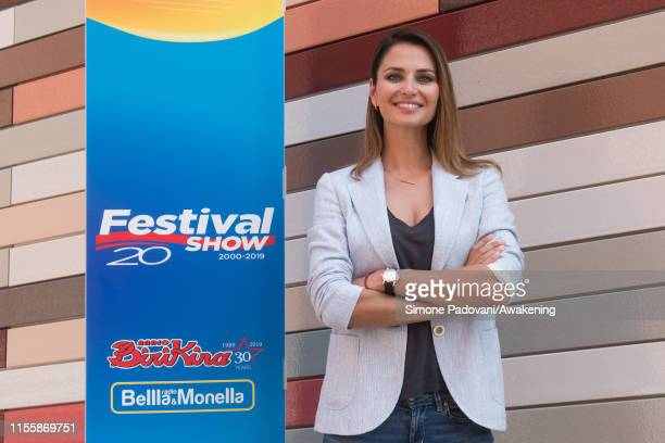 Anna Safroncik attends the press conference of the Festival Show 2019 on June 14 2019 in Venice Italy