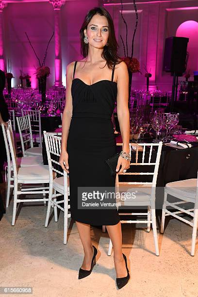 Anna Safroncik attends the Telethon Gala during the 11th Rome Film Fest on October 19 2016 in Rome Italy