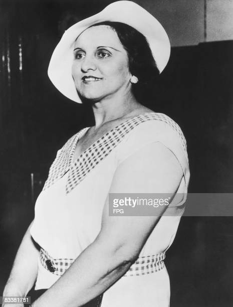 Anna Sage whose real name was Ana Cumpanas a brothel madam in Chicago circa 1934 She betrayed bank robber John Dillinger to the FBI and was with him...