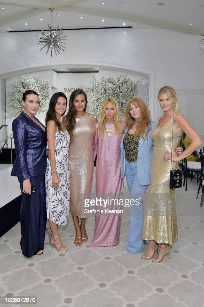 Anna Schafer Ali Kay Anne Marie Kortright Rachel Zoe Kimberly Muller and Sarah Wright Olsen attend Rachel Zoe Spring 2019 LA Presentation at Hotel...