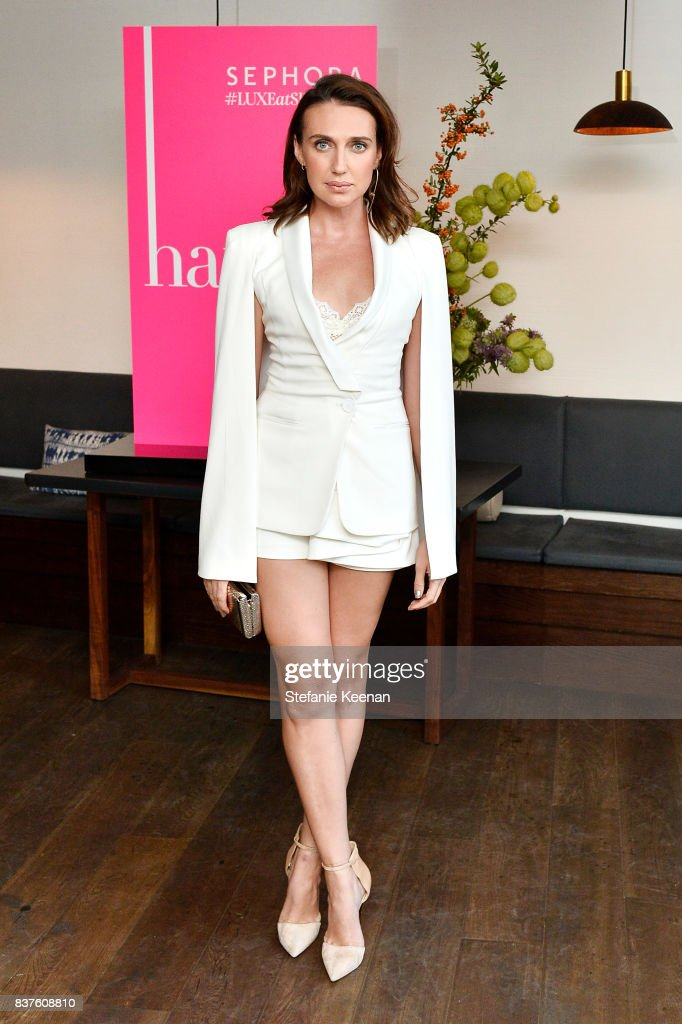 Nina Dobrev celebrates the harper by Harper's BAZAAR September Issue with an Event Presented By Sephora In LA : News Photo