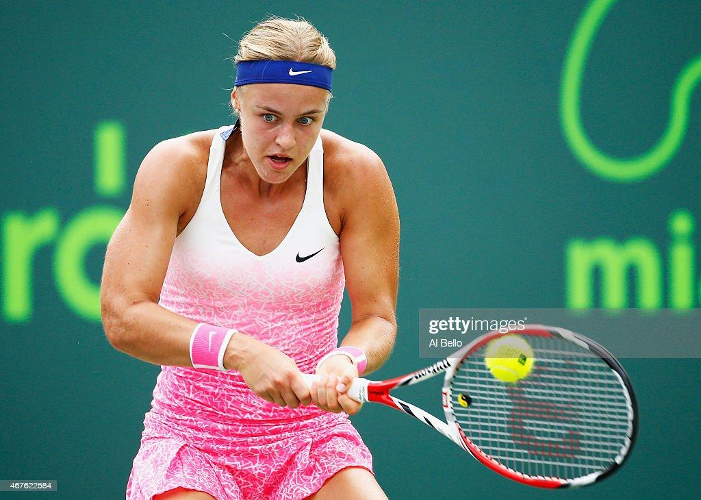 Miami Open Tennis - Day 4 : News Photo