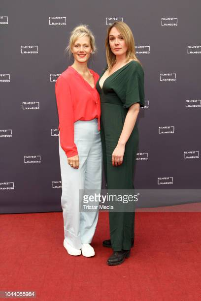 Anna Schudt and Alwara Hoefels attend the 'Aufbruch in die Freiheit' premiere during the Film Festival on September 30 2018 in Hamburg Germany