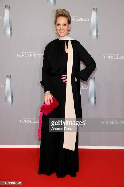 Anna Schudt attends the German Television Award at Rheinterrasse on January 31, 2019 in Duesseldorf, Germany.