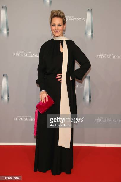 Anna Schudt attends the German Television Award at Rheinterrasse on January 31 2019 in Duesseldorf Germany