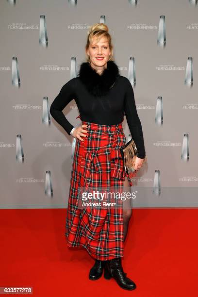 Anna Schudt attends the German Television Award at Rheinterrasse on February 2, 2017 in Duesseldorf, Germany.