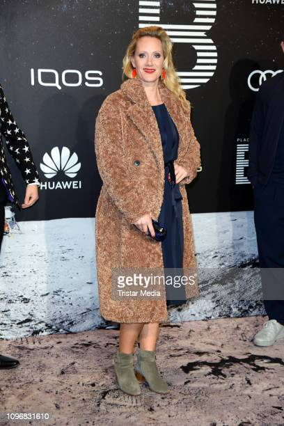 Anna Schudt attends the PLACE TO B Berlinale party during 69th Berlinale International Film Festival at Borchardt Restaurant on February 9, 2019 in...