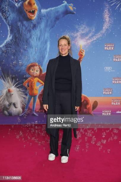 "Anna Schudt attends the ""Willkommen im Wunder Park"" premiere at Kino in der Kulturbrauerei on March 31, 2019 in Berlin, Germany."