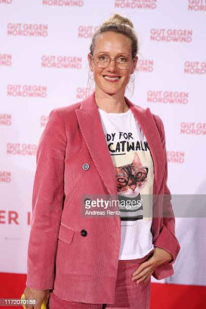 """Anna Schudt attends the world premiere of the movie """"Gut gegen Nordwind"""" at Cinedom on September 03, 2019 in Cologne, Germany."""