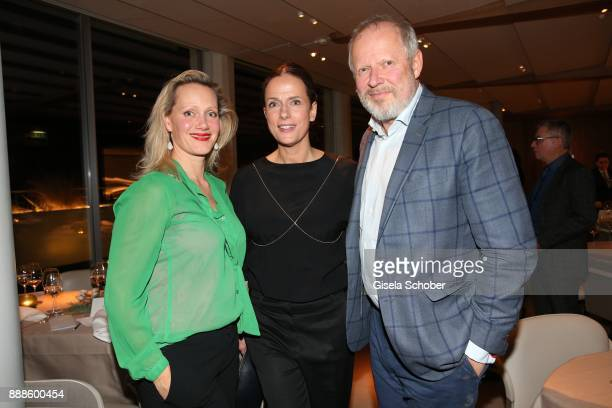 Anna Schudt Claudia Michelsen and Axel Milberg during the ARD advent dinner hosted by the program director of the tv station Erstes Deutsches...