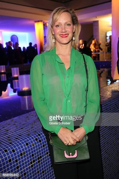 Anna Schudt during the ARD advent dinner hosted by the program director of the tv station Erstes Deutsches Fernsehen at Hotel Bayerischer Hof on...