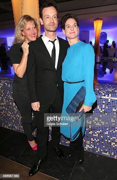 Anna Schudt, Joerg Hartmann and Bibiana Beglau during the ARD advent dinner hosted by the program director of the tv station Erstes Deutsches...