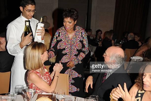 Anna Scott Carter Grace Hightower and Larry David attend VANITY FAIR Tribeca Film Festival Party hosted by GRAYDON CARTER ROBERT DE NIRO and RONALD...