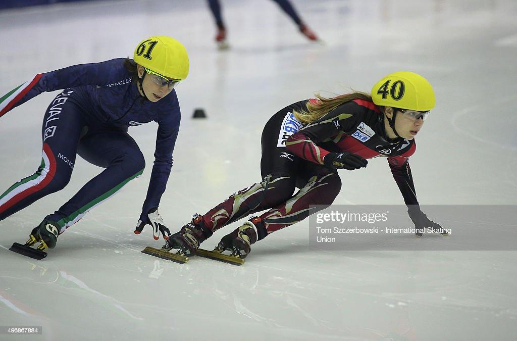ISU World Cup Short Track Toronto - Day 2