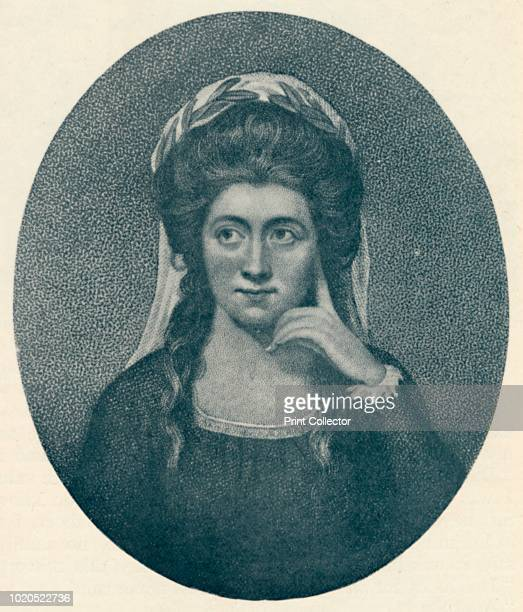 Anna Seward ' 1907 Anna Seward English writer and poet known as the Swan of Lichfield From The Life of Samuel Johnson Vol II by James Boswell [Sir...