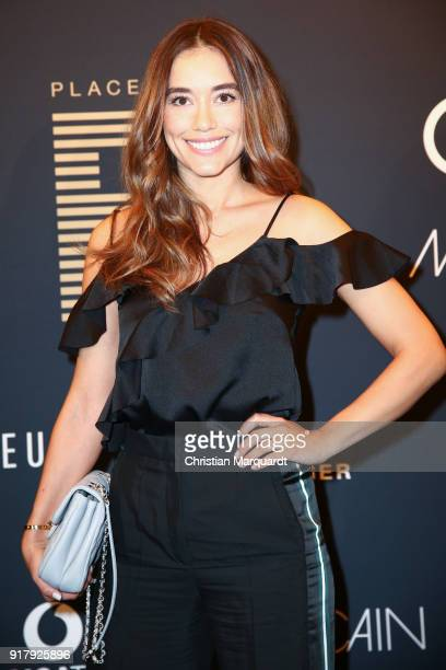 Anna Sharypova attends the PLACE TO B PreBerlinaleDinner Photo Call at Provocateur on February 13 2018 in Berlin Germany