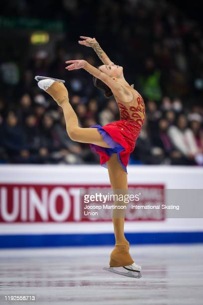 Anna Shcherbakova of Russia competes in the Ladies Free Skating during the ISU Grand Prix of Figure Skating Final at Palavela Arena on December 07,...