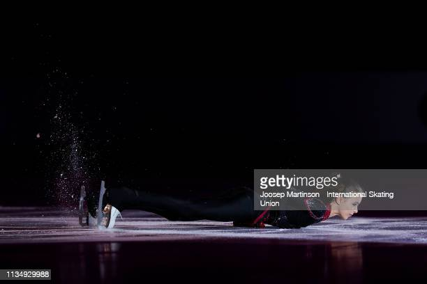 Anna Shcherbakova of Russia performs in the Gala Exhibition during day 5 of the ISU World Junior Figure Skating Championships Zagreb at Dom Sportova...