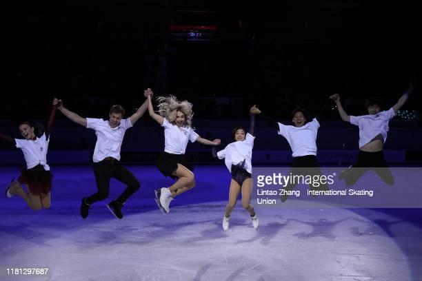 Anna Shcherbakova of Russia Victoria Sinitsina and Nikita Katsalapov of Russia Sui Wenjing and Han Cong of China Jin Boyang of China performs in the...