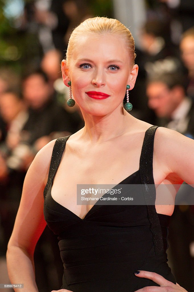 Anna Sherbinina at the 'Leviathan' premiere during the 67th Annual Cannes Film Festival