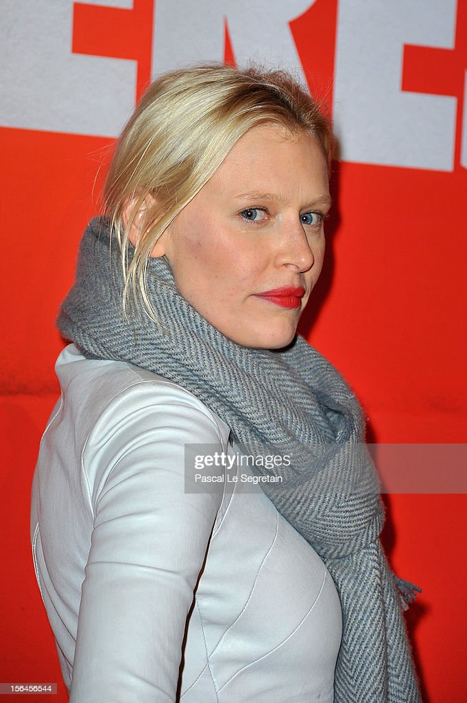 Anna Sherbinina attends 'Comme Des Freres' Premiere at Cinema Gaumont Opera on November 15, 2012 in Paris, France.