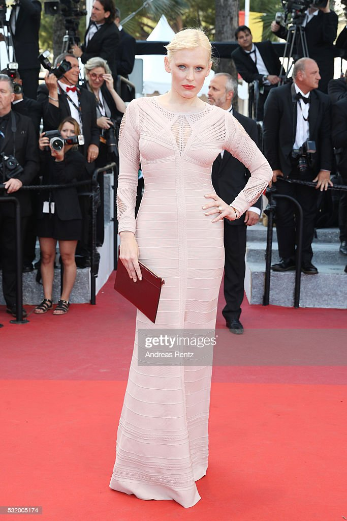 Anna Sherbinina attends the 'Julieta' premiere during the 69th annual Cannes Film Festival at the Palais des Festivals on May 17, 2016 in Cannes, France.