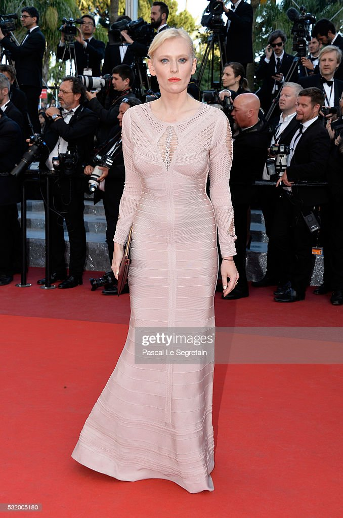 Anna Sherbinina attends the screening of 'Julieta' at the annual 69th Cannes Film Festival at Palais des Festivals on May 17, 2016 in Cannes, France.