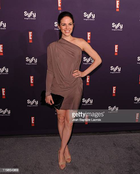 Anna Silk arrives at SyFy/E ComicCon Party at Hotel Solamar on July 23 2011 in San Diego California