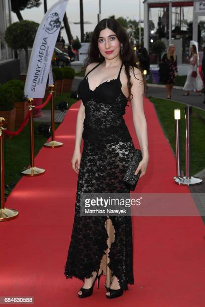 Anna Silverman attends Sunny Media Cocktail during the 70th annual Cannes Film Festival at Grand Hotel on May 18 2017 in Cannes France
