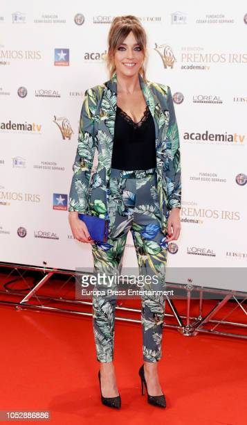 Anna Simon attend Iris Television Awards Photocall at Kinepolis on October 23 2018 in Madrid Spain