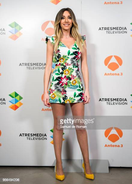 Anna Simon attends during 'La Noche de Rober' Tv Show Presentation on May 9 2018 in Madrid Spain