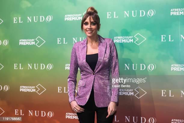 "Anna Simon attends ""El Nudo"" presentation by Atresmedia on December 3, 2019 in Madrid, Spain."