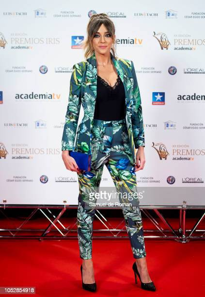 Anna Simon attends Iris Awards Photocall on October 23 2018 in Madrid Spain