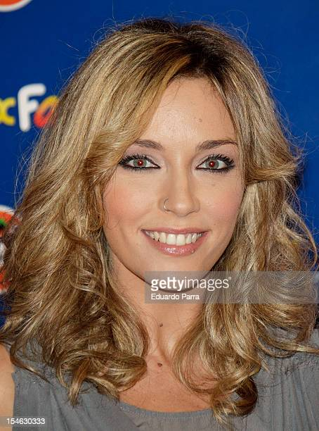 Anna Simon attends Neox Fan Awards 2012 photocall at La Latina Theatre on October 23 2012 in Madrid Spain