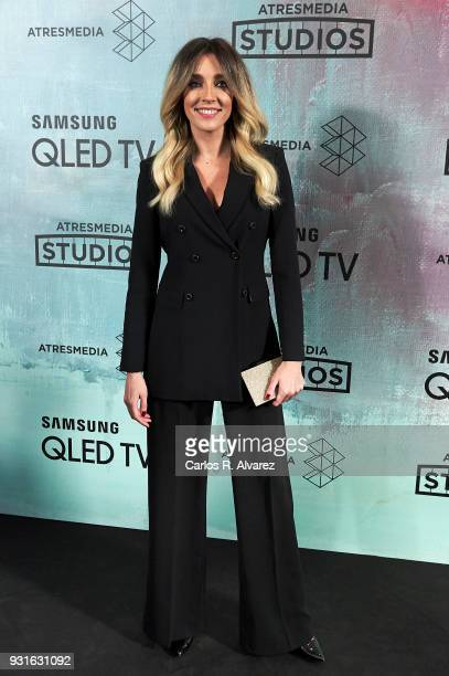 Anna Simon attends the Atresmedia Studios photocall at the Barcelo Theater on March 13 2018 in Madrid Spain