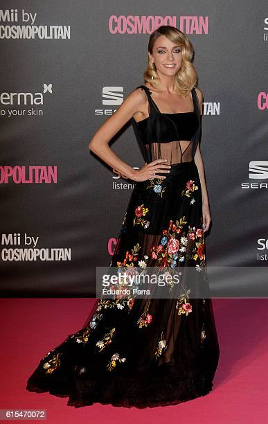 Anna Simon attends the 'Cosmopolitan Fun Fearless Female' awards 2016 at La Riviera Disco on October 18 2016 in Madrid Spain