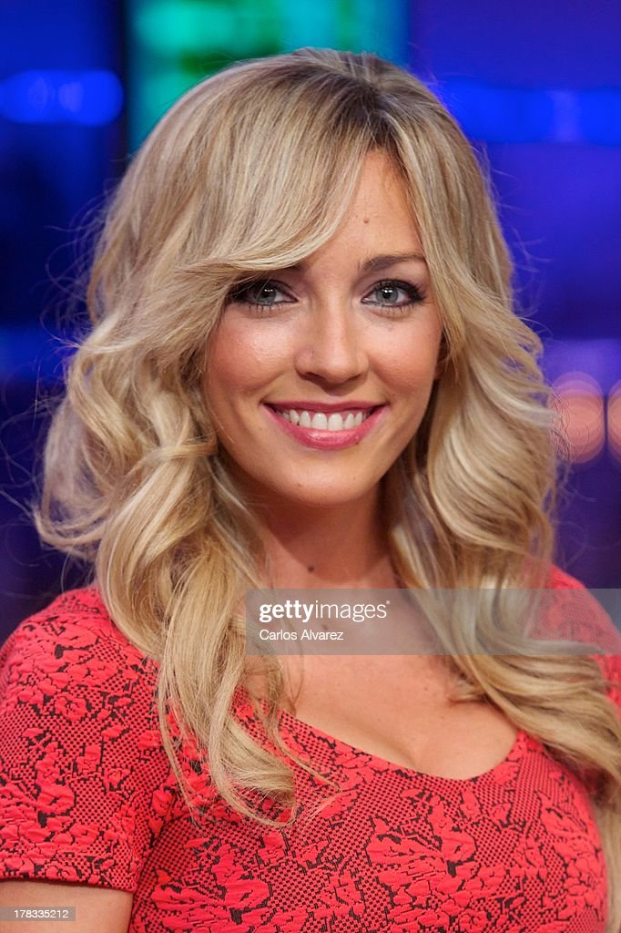 Anna Simon attends the 'El Hormiguero 3.0' new season presentation at the Vertice Studio on August 29, 2013 in Madrid, Spain.