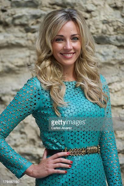 "Anna Simon attends the ""Por Arte de Magia"" new television show during the day three of 5th FesTVal Television Festival 2013 at the Villa Suso Palace..."
