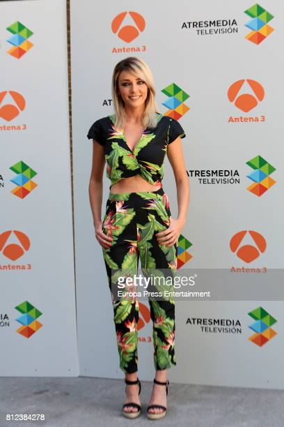 Anna Simon attends the presentation of Tv programme 'Me Resbala' on July 10 2017 in Madrid Spain