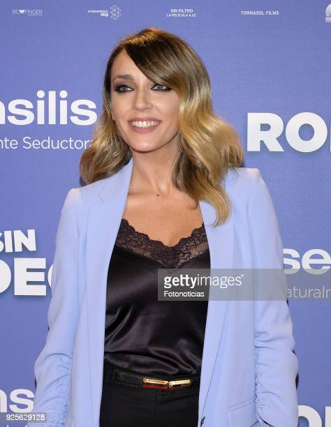 Anna Simon attends the 'Sin Rodeos' premiere at Capitol cinema on February 28 2018 in Madrid Spain
